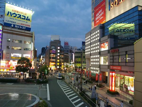 八王子駅ロータリー