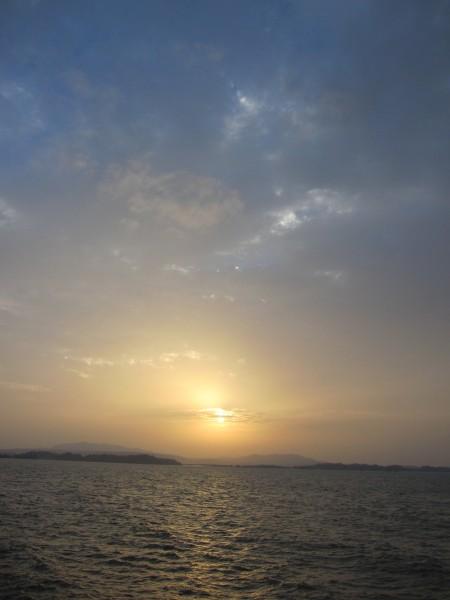 海 夕日 空 沖縄