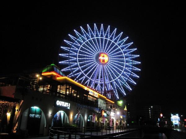 夜景 観覧車 沖縄