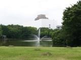 噴水 フリー画像